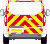 Ford Transit Custom MK1 standard roof 2013 to present three quarter Chevron Kit