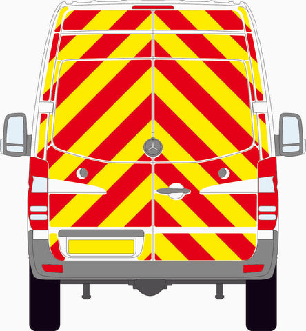 Mercedes Sprinter Mk2 high roof 2013 to 2018 full Chevron Kit
