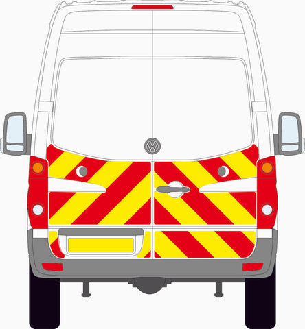 Volkswagen Crafter MK1 high roof 2006 to 2016 half Chevron Kit