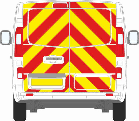 Vauxhall Vivaro MK2 2014 to 2018 full Chevron Kit