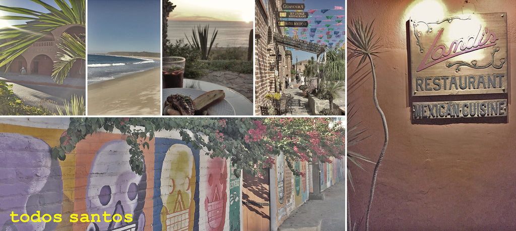 todos santos leaves an impression