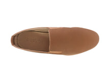 Load image into Gallery viewer, mens brown leather slip ons