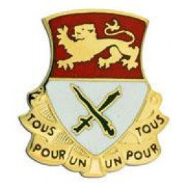 15th Cavalry Regiment Crest