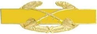 Combat Cavalry Badge - Novelty