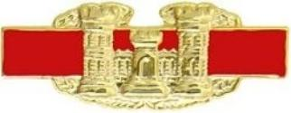 Combat Engineer Badge - Novelty
