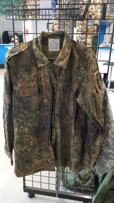 German Army Flecktarn Camo Coat / Jacket
