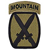 10th Mountain w/ Tab- OCP