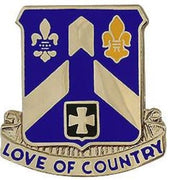 58th Infantry Regiment Crest