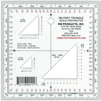 Map Protractor - Super Thin