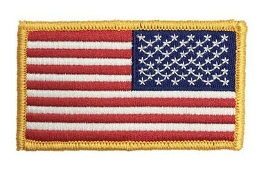 American Flag - Velcro - Reversed
