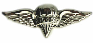 Parachute Rigger Badge - Non Subdued / Mirror Finished