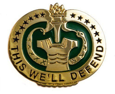 Drill Sergeant Badge - Non Subdued / Mirror Finish