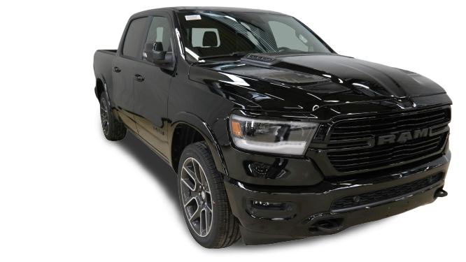 DODGE RAM LARAMIE SPORT BLACK PACKAGE 5.7 V8 HEMI