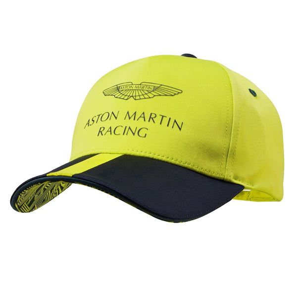 CASQUETTE ASTON MARTIN RACING TEAM LIME ADULTE
