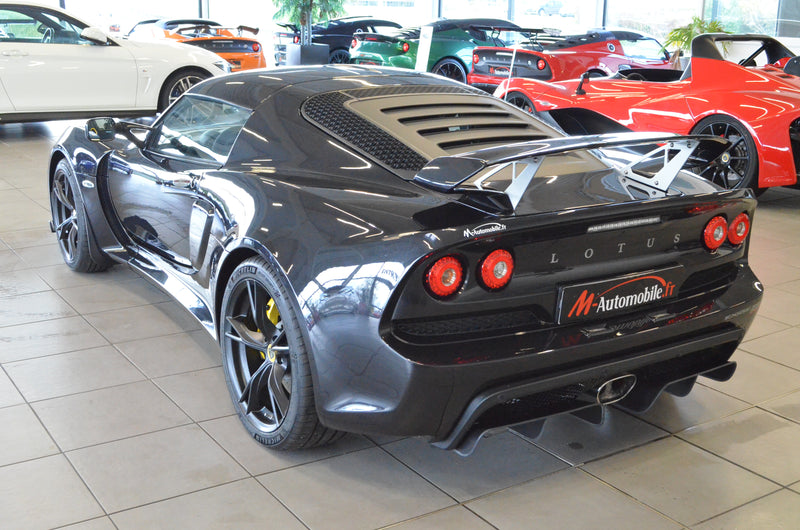LOTUS EXIGE SPORT 350 METALLIC BLACK MALUS INCLUS