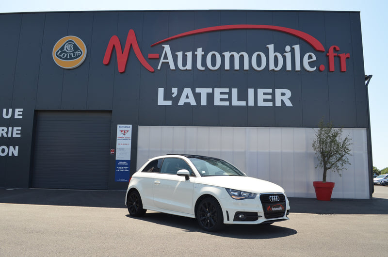AUDI A1 1.4 TFSI 185CH AMBITION LUXE S TRONIC