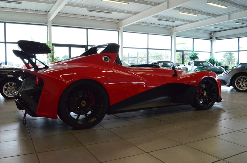 LOTUS 3-ELEVEN SOLID RED