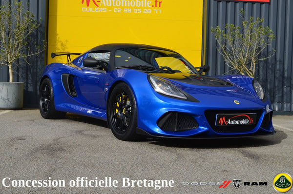 LOTUS EXIGE SPORT 410 METALLIC BLUE