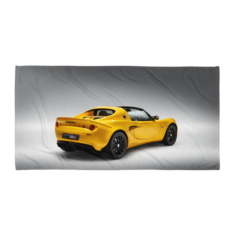 Serviette Elise 220 Sport YELLOW REAR