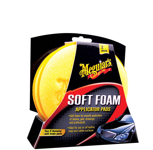 TAMPONS APPLICATEURS MOUSSE MEGUIAR'S
