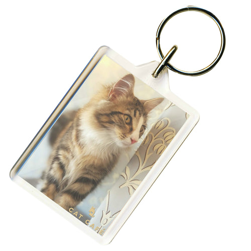 Cat Cafe Liverpool - Alice Keyring