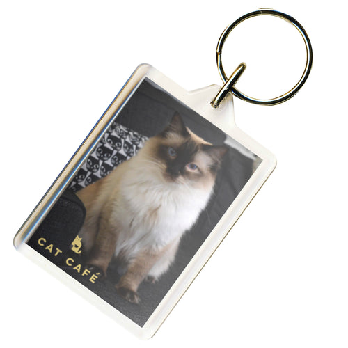 Cat Cafe Manchester - Harvey Keyring