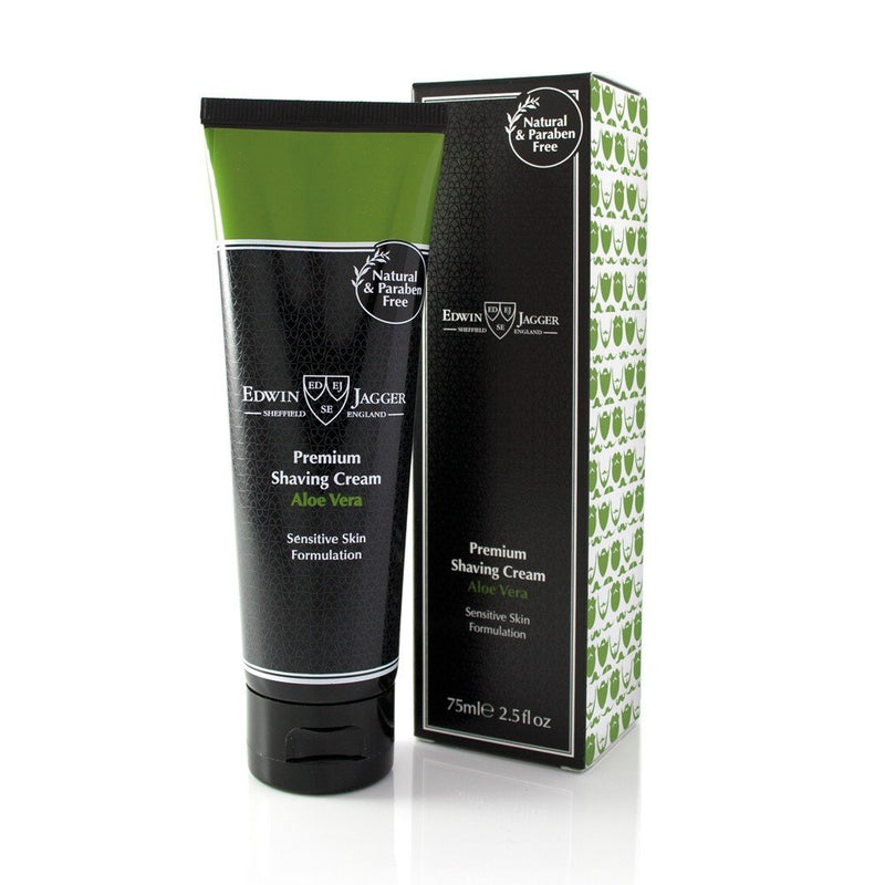 Natural Aloe Vera Shaving Cream (75ml)