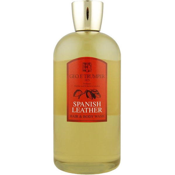 Spanish Leather Hair & Body Wash (500ml)