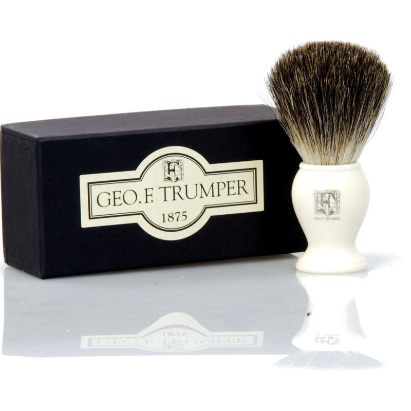 PB2IB Best Badger Shaving Brush (Simulated Ivory)