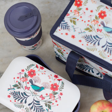 Bluebird insulated lunch bag