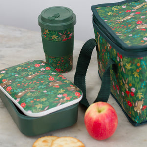 Botanical Bunnies bamboo lunch box