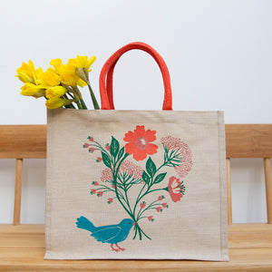 Bluebird large juco shopping bag