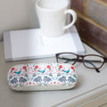 Bluebird glasses case