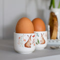 Hoppy Days set of 4 china egg cups