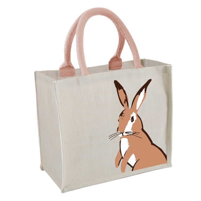 Hoppy Days mini juco shopping bag