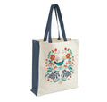 Bluebird canvas shopping bag