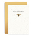 Bees Knees - Enamel Pin Card