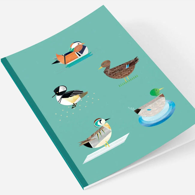 Dabbling Ducks A5 Notebook