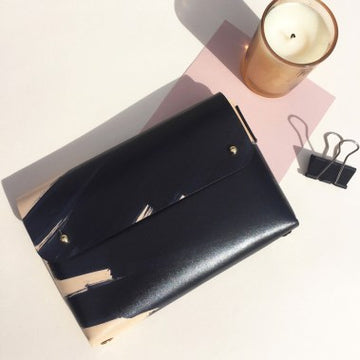 Mona Folded Handmade Leather Pouch