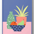 'Still Life with Terrazzo Vase' A4 Print