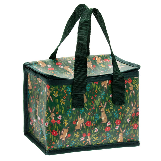 Botanical Bunnies insulated lunch bag