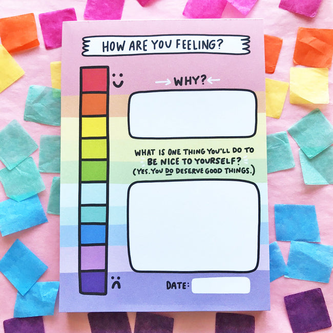 My Mood Tracker Notepad