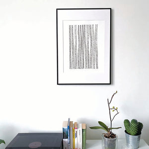 BIRCH FOREST original print