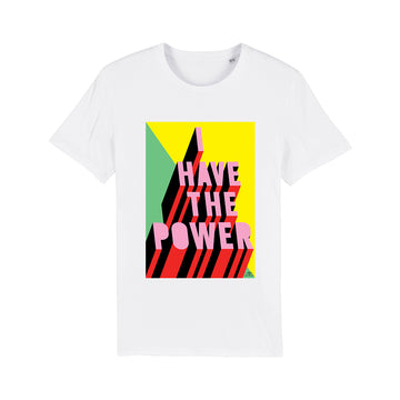 Adult unisex organic cotton T-shirt - Morag Myerscough