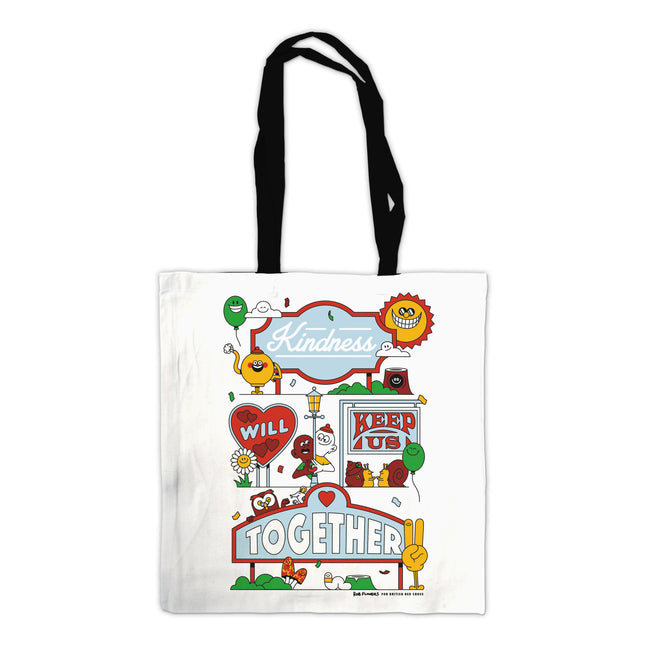 Organic cotton tote bag - Rob Flowers