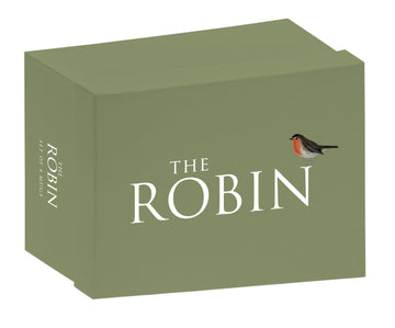 Robin set of 4 boxed mugs