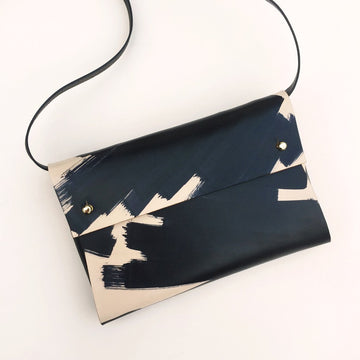 Sasha Handmade Leather Clutch Bag