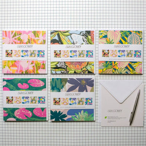 Floral Greetings Cards Set