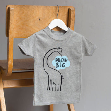 Dream Big Giraffe Children's T-shirt