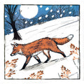 The fox - Christmas Card